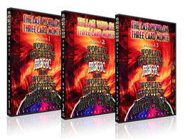DVD > テーマ別 > ザ・ラスト・ワード・オン・スリー・カード・モンテ | マジック用品 グッズショップ(手品ショップ)フレンチドロップ